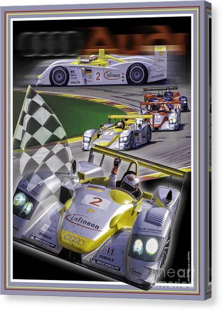 Audi R8 2005 Canvas Print