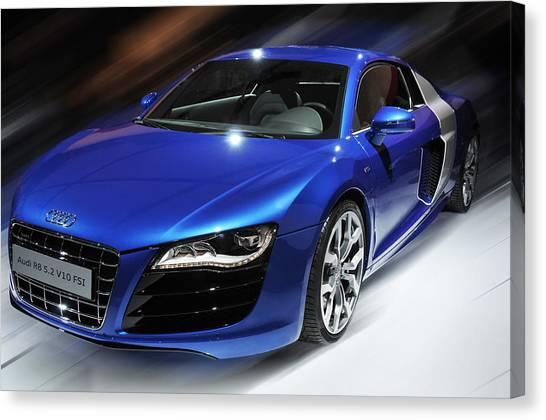 Audi R8 V10 Fsi Canvas Print