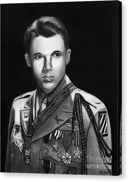 Audie Murphy Canvas Print