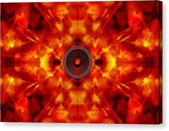 Audio Kaleidoscope Canvas Print