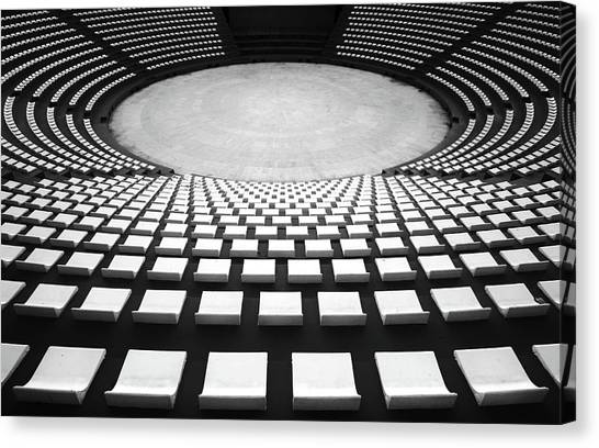 Turkeys Canvas Print - Auditorium by Hans-wolfgang Hawerkamp