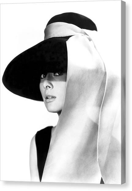 Audrey Hepburn Canvas Print - Audrey Hepburn by Daniel Hagerman