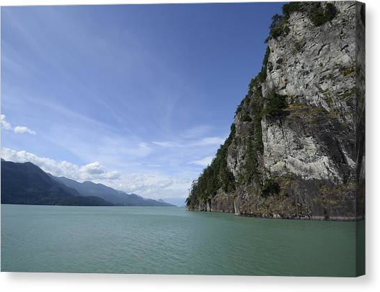 August Afternoon On Harrison Lake Bc Canvas Print