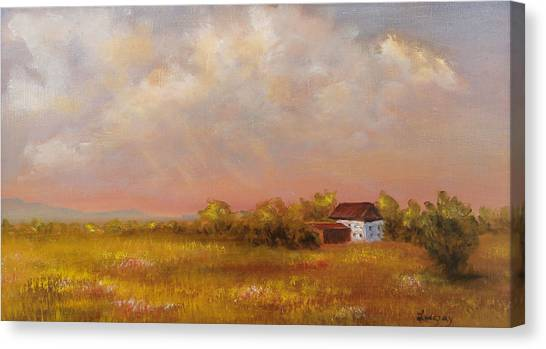 August Afternoon Pa Canvas Print