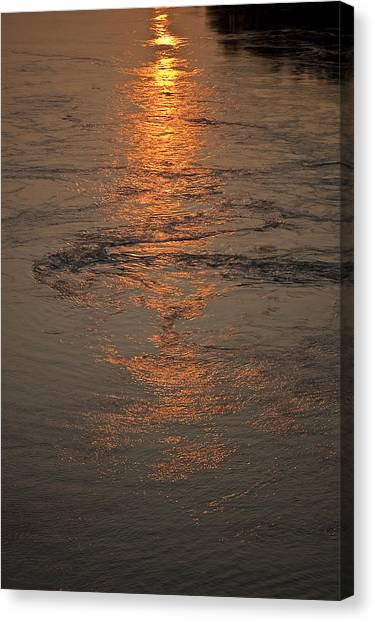 August's Finale Canvas Print by Tom Trimbath