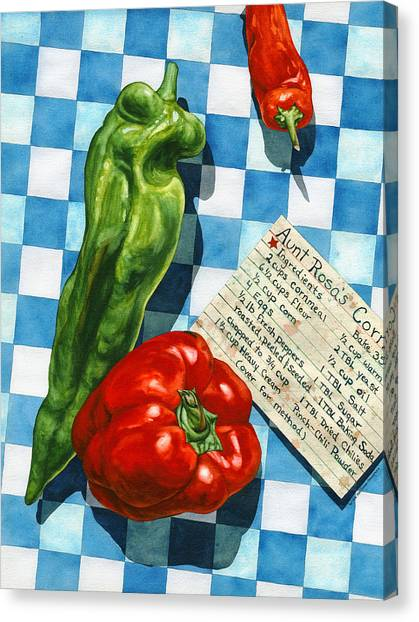 Aunt Rosa's Cornbread Canvas Print