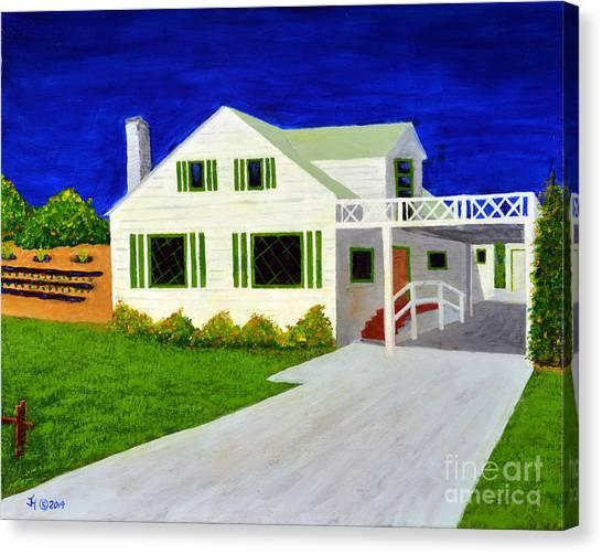 Auntie's House Canvas Print