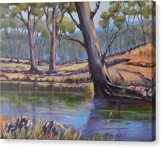 Aussie Billabong Canvas Print