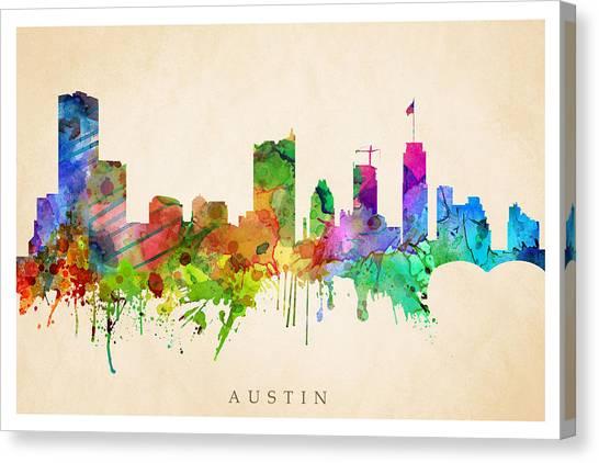 Austin Cityscape Canvas Print