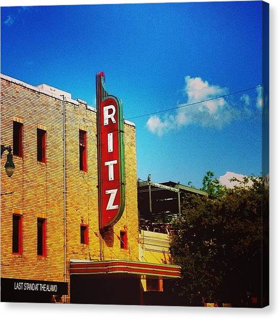 Austin Canvas Print - Austin #iphone5  by Scott Pellegrin