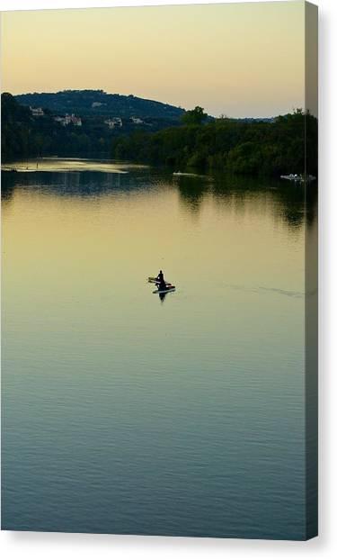 Austin Lady Bird Lake Canvas Print