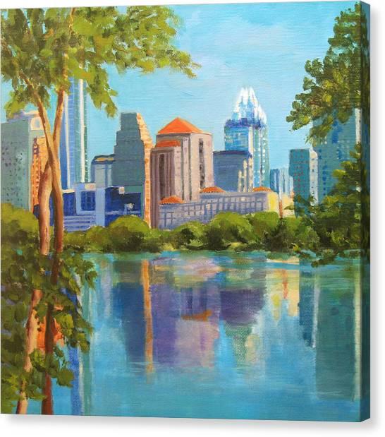 Austin Morning Canvas Print