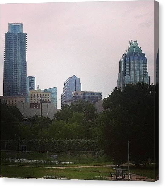 Dodge Canvas Print - #austin #newhome by Wendy Dodge