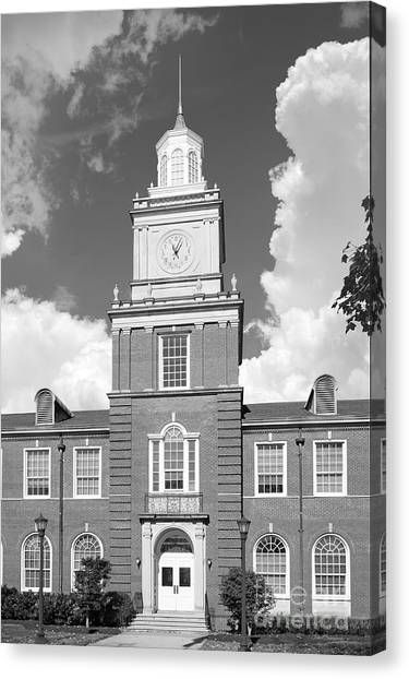 Austin Peay State University Canvas Print - Austin Peay State University Browning Hall by University Icons