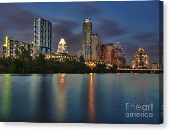 Austin Skyline 1 Canvas Print
