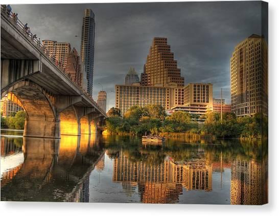 Austin Skyline Canvas Print - Austin Skyline by Jane Linders