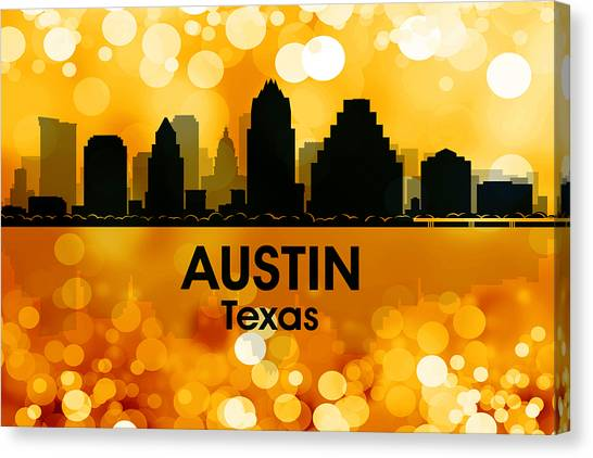 Austin Tx 3 Canvas Print