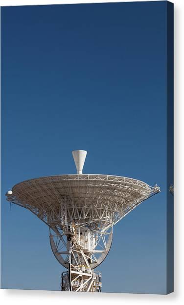 Canberra Canvas Print - Australia, Canberra, Radio Telescopes by Walter Bibikow