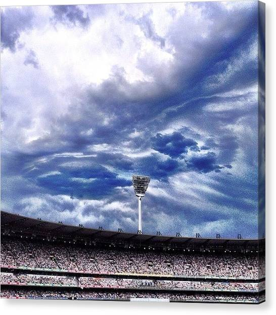 Ashes Canvas Print - Australia Isn't The Only Thing by Jeff Crow