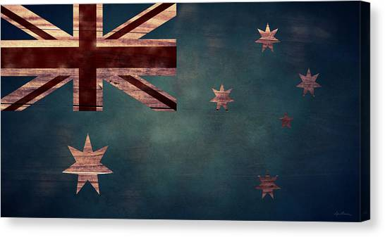 Australian Flag I Canvas Print