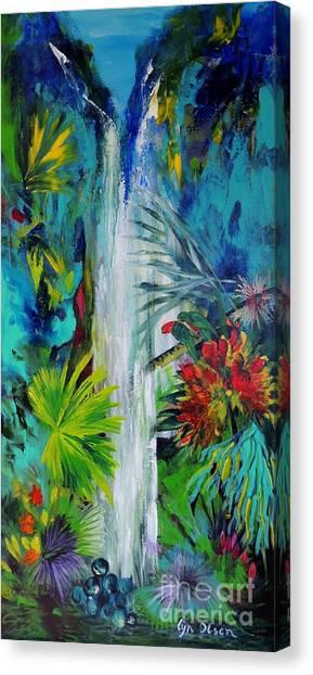 Australian Rainforest Canvas Print