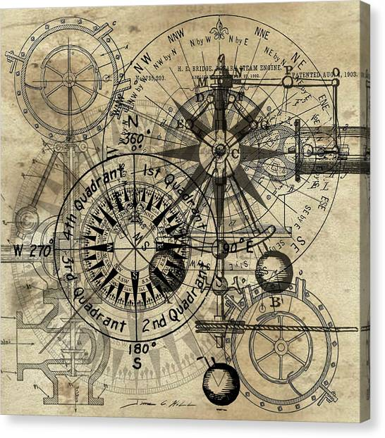 Autowheel IIi Canvas Print
