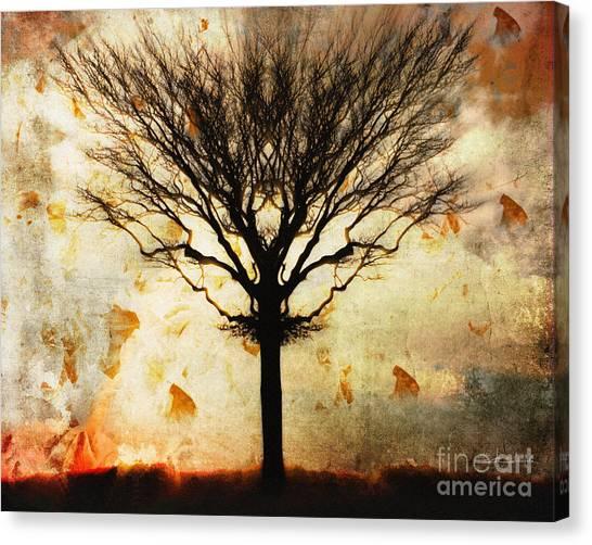 Autum Wind Canvas Print