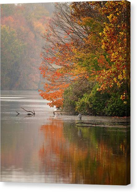 Autumn - Lake Logan Canvas Print
