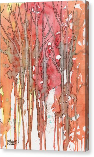 Autumn Abstract No.1 Canvas Print