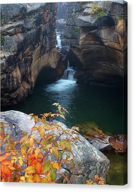 Autumn At The Grotto Canvas Print
