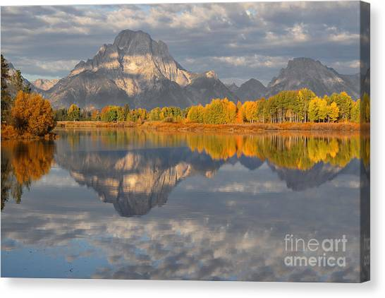 Autumn At The Oxbow Canvas Print