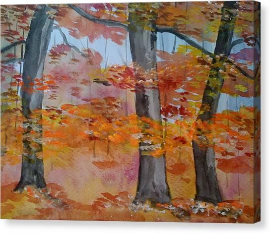 Autumn Beauty Canvas Print