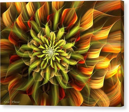Autumn Bloom Canvas Print