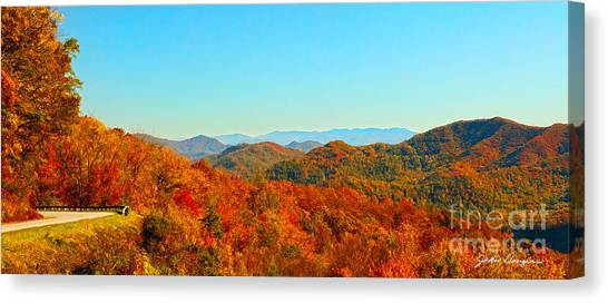 Autumn Blue Ridge Canvas Print