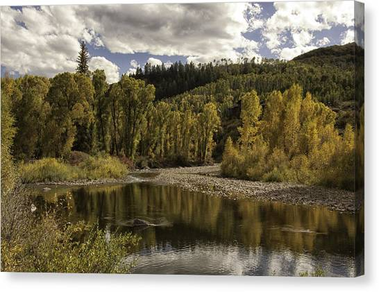 Autumn Colors At Christina Canvas Print