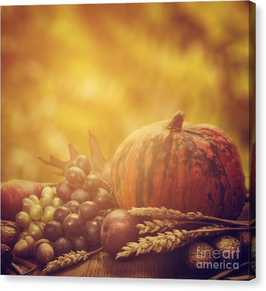 Autumn Concept Canvas Print