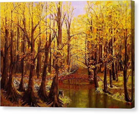 Autumn Cool Canvas Print