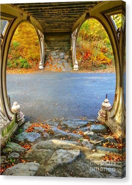 Autumn Crunch  Canvas Print