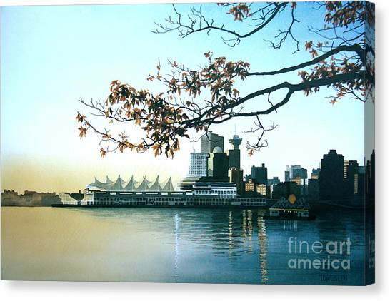 Autumn Daybreak Canvas Print