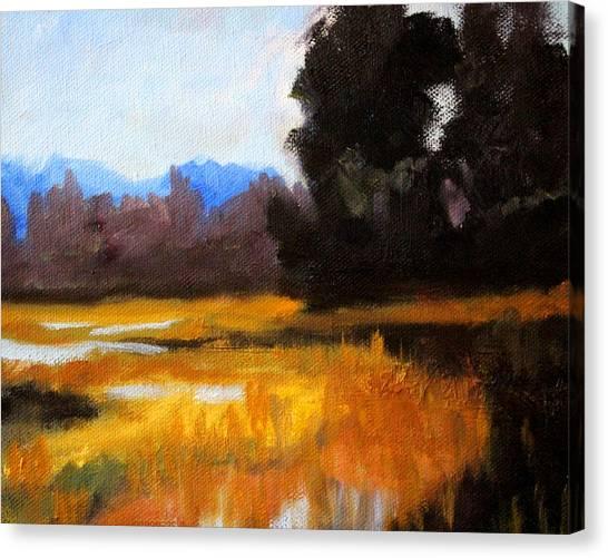 Deltas Canvas Print - Autumn Delta by Nancy Merkle