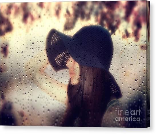 Rain Canvas Print - Autumn Dream by Stelios Kleanthous