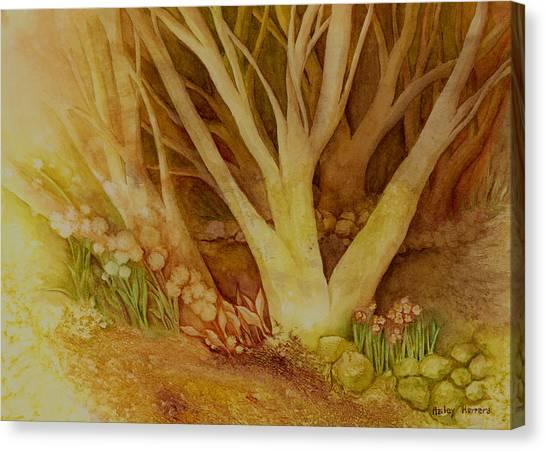 Beautiful Nature Canvas Print - Autumn Forest by Hailey E Herrera