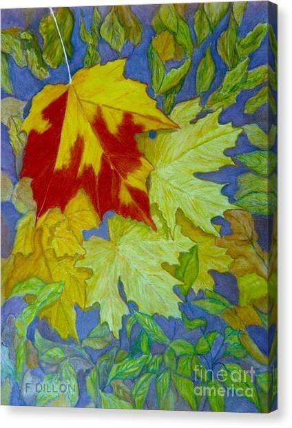 Autumn Canvas Print by Frances  Dillon