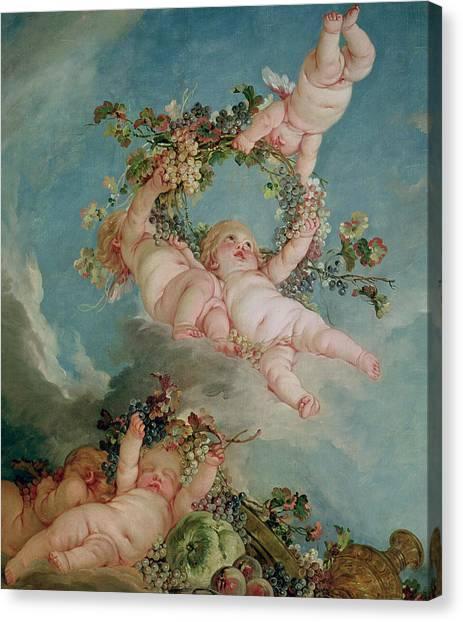 Boucher Canvas Print - Autumn by Francois Boucher