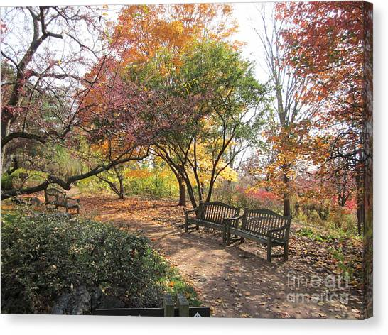 Autumn Garden Canvas Print