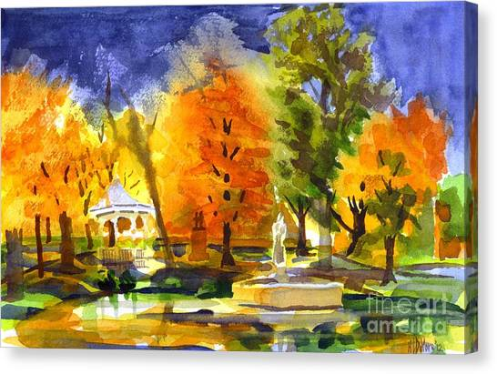 Autumn Gold 2 Canvas Print
