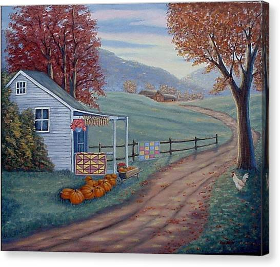 Autumn Harvest Canvas Print