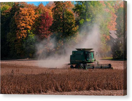 Autumn Harvest Canvas Print by Gene Sherrill