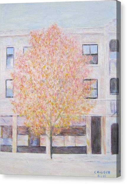 Autumn In Chicago Canvas Print