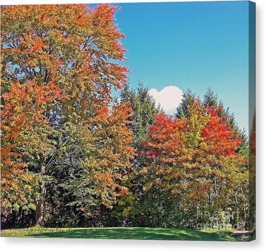 Ohio Autumn In Full Color Canvas Print